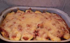 cukkinis lasagne sütőben