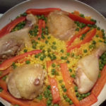 Csirkés paella recept