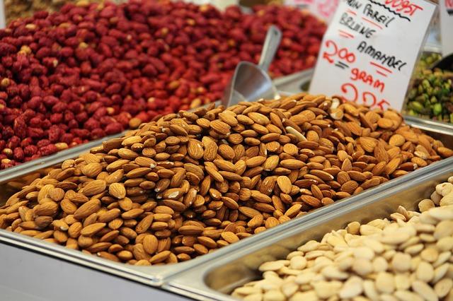 alacsony glikémiás indexű ételek, olajos magvak