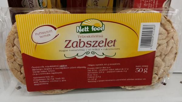 kenyér helyett puffasztott zab