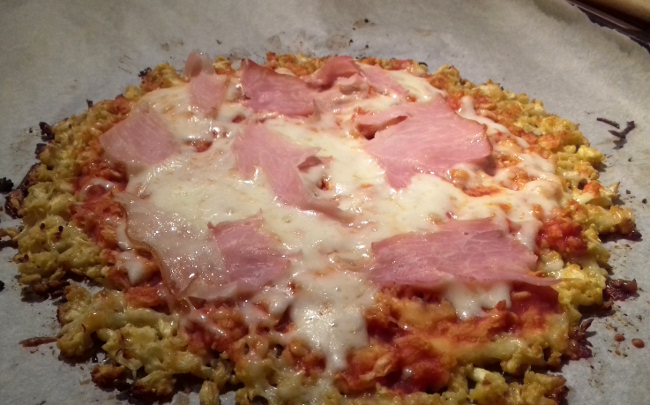 karfiol pizza recept