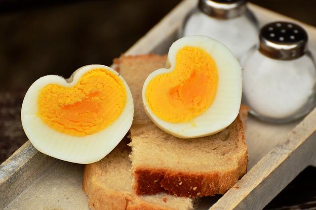 Tojás fehérjetartalma