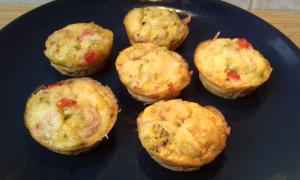 diétás tojás muffinok