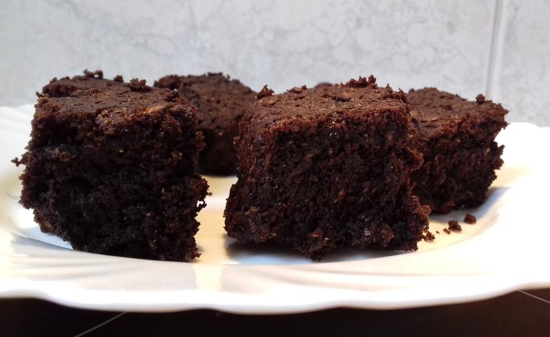 cukkini brownie