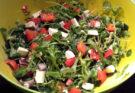 rukkola saláta feta sajttal